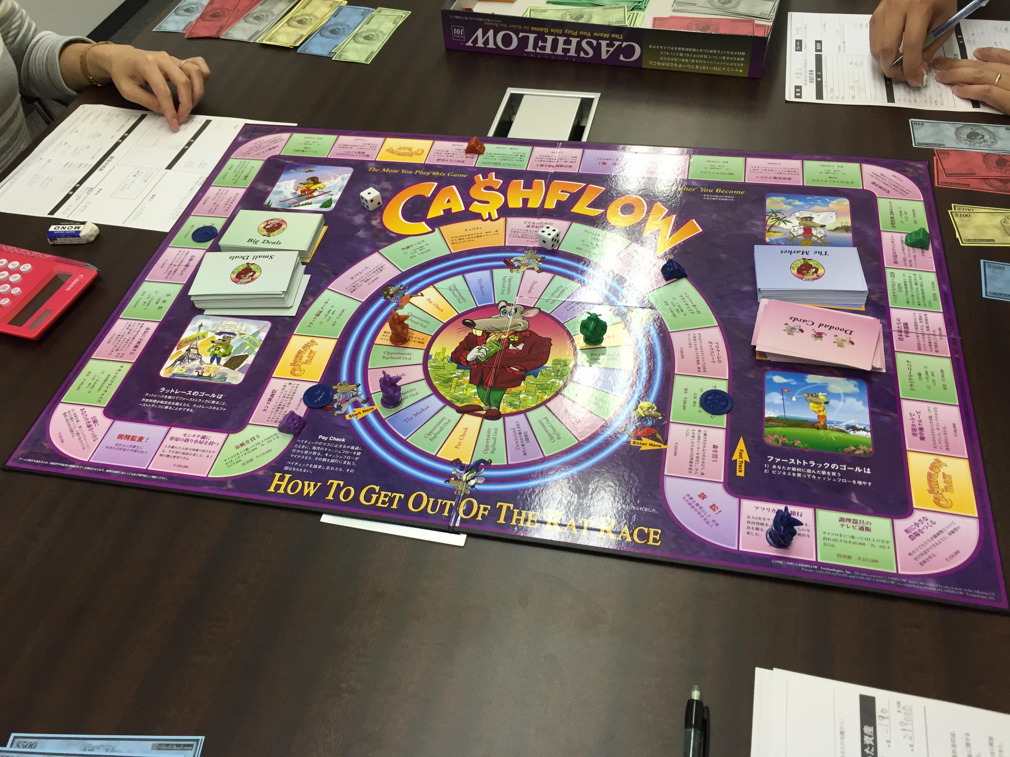 キャッシュフローゲーム会 4月1日 開催!参加者募集中<アルプレイスセミナールーム